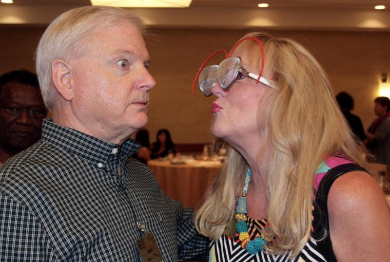 NSA-NT Treasurer Bob Phillips and NSA-NT Vice President Betti Coffey