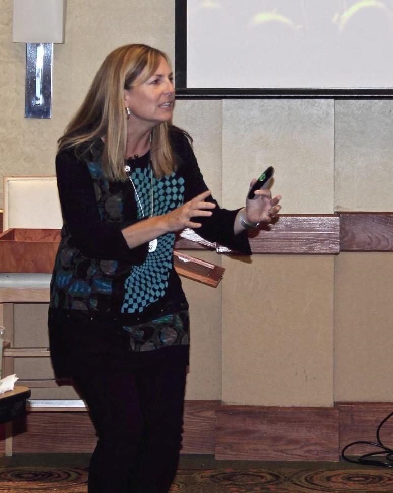 September Speaker Jane Atikinson