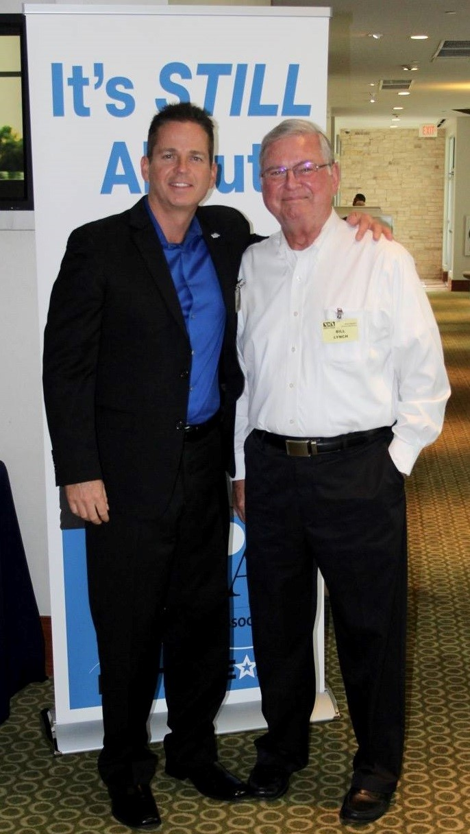 NSA-NT Past President Chris Price and Director of Marketing Bill Lynch