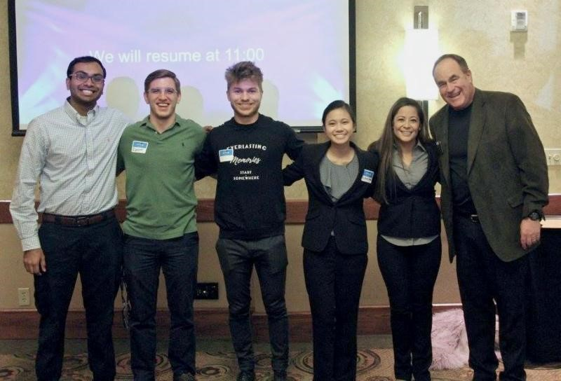 NSA-NT President Stu Schlackman, CSP and his student attendees