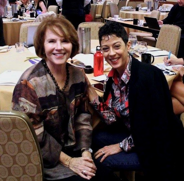 NSA-NT Past President Julie Alexander, CSP and NSA-NT Member Mary Warren