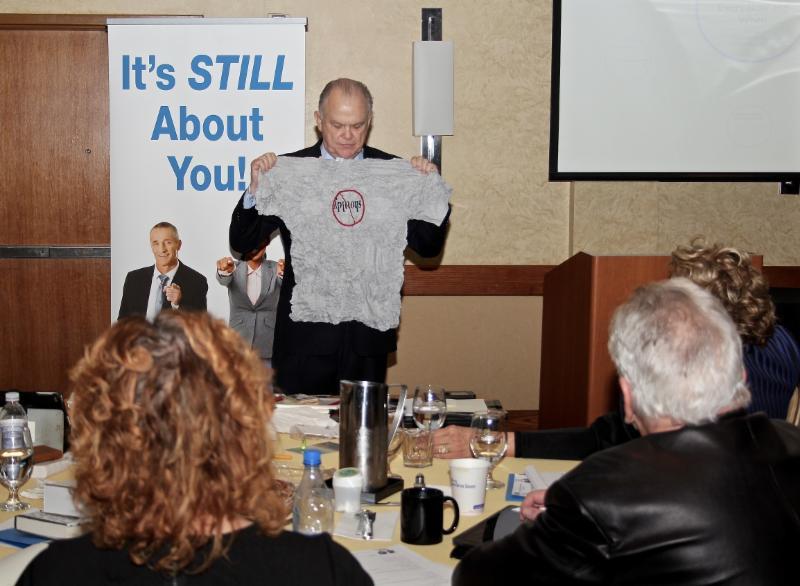 Tim Durkin, CSP Speaks to the Audience