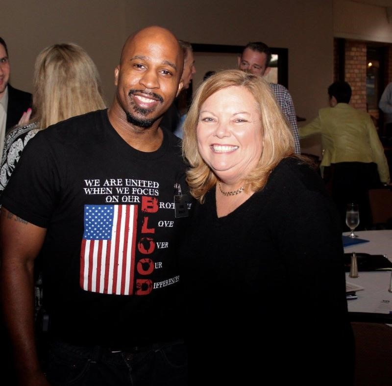 Members Gene Mosley and NSA-NT President Elect Kate Delaney