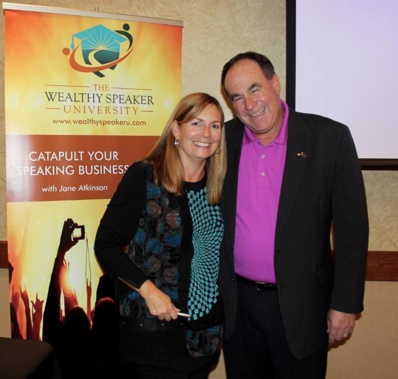 Speaker Jane Atkinson and NSA-NT President Stu Schlackman