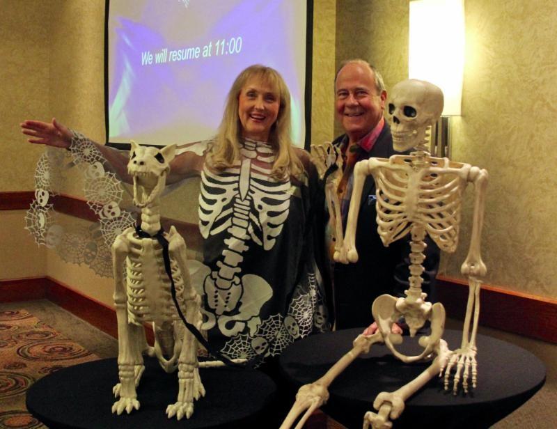 Vice President Betti Coffey and Bill Wallace