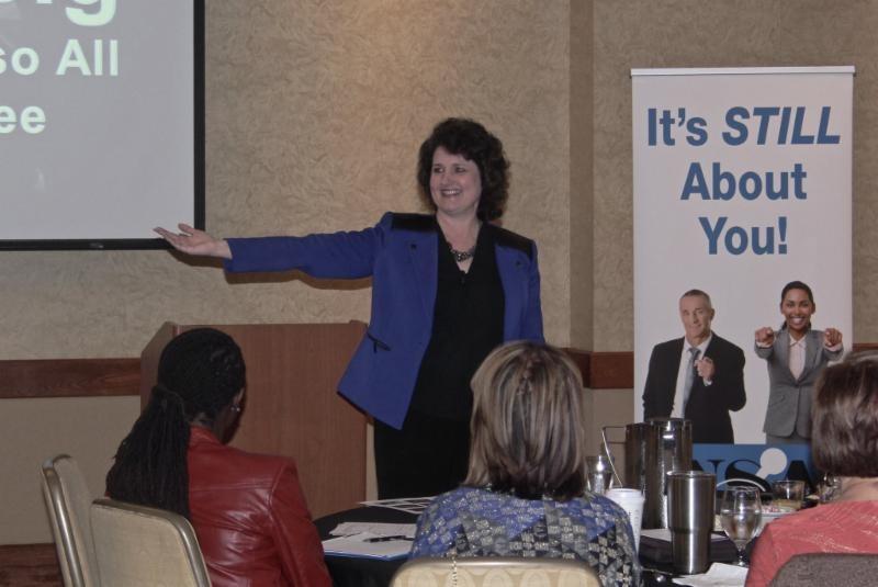 March Ed Talk Speaker Linda Swindling, CSP
