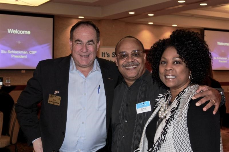NSA-NT President Stu Schlackman, CSP with guest Gaither Fisher and Member Cherrie Fisher