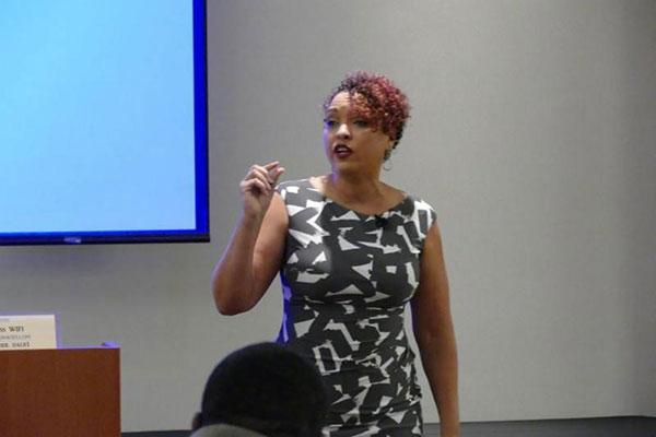 Our August Speaker, Dawnna St. Louis