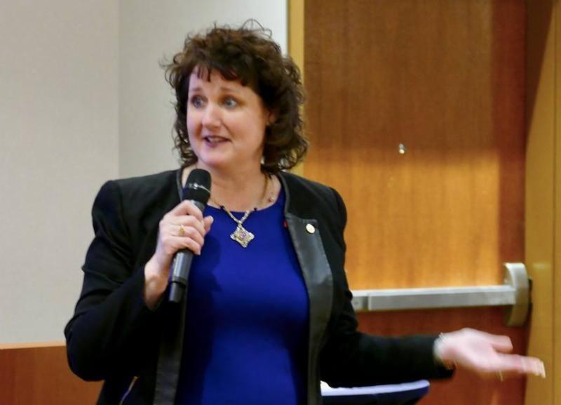 Ed Talk Speaker Linda Swindling, CSP