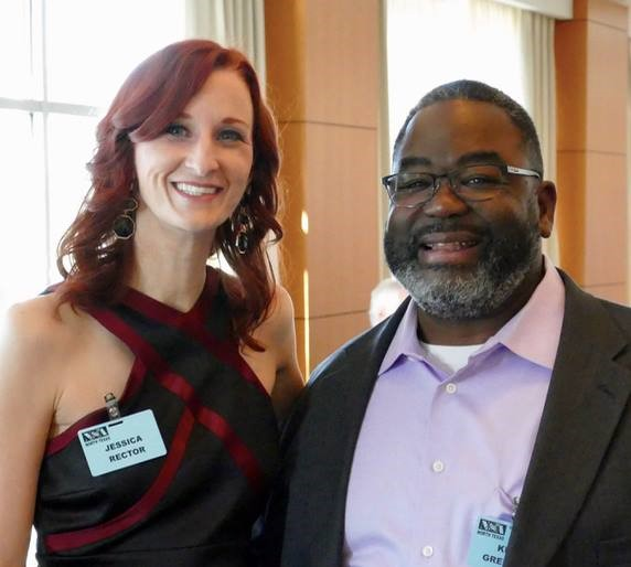 Candidate Members Jessica Rector and Kevin Green, Sr.
